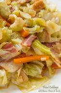 Fried Cabbage, Bacon, Onion & Garlic!