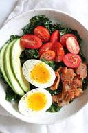 Breakfast Blt Salad!