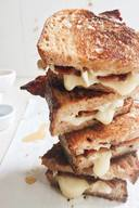 Sticky Finger Maple Bacon Grilled Cheese!