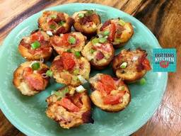 Bacon Tomato Biscuit Cups!