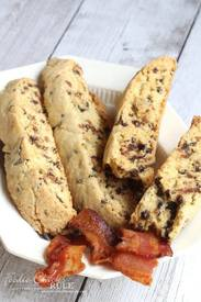 Chocolate Maple Bacon Biscotti!