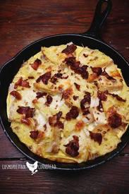 Bacon & Egg Strata!