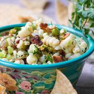 Sweet Corn Hatch Chile & Bacon Salsa!