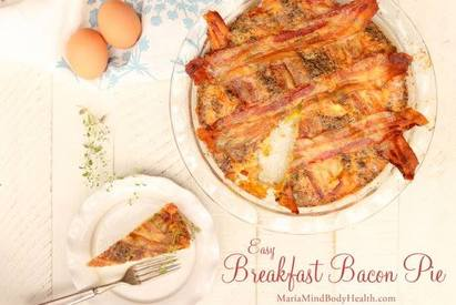 Easy Bacon Breakfast Pie!