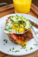 Breakfast Bacon Baked Potato!