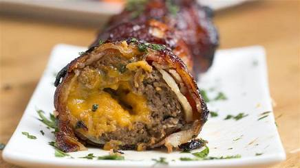Bbq Bacon Onion Meatball Bombs!