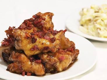 Bacon Maple Chicken Nibbles!