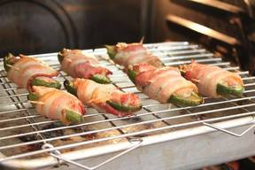 Pork On Pork Jalapeno Poppers!