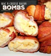 Mac & Cheese Bacon Bombs!