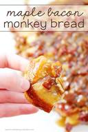 Maple Bacon Monkey Bread!
