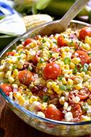 Bacon Blue Cheese Corn Salad!