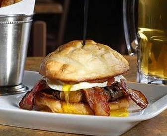 The Sriracha Pb Bacon Burger!