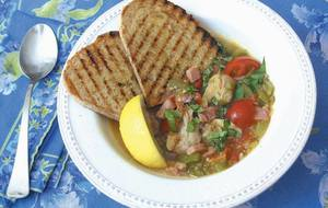 Clam Bacon & Tomato Stew!