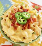 Creamy Jalapeno Bacon Mac & Cheese!