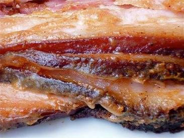 Spicy Maple Dijon Glazed Bacon!