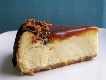 Bacon Turtle Caramel Cheesecake!