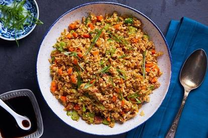 Bacon Cauliflower Fried Rice!