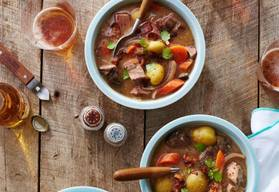 Bacon & Beef Stew!