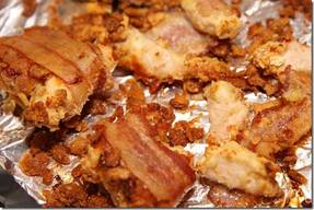 Baked Bacon Cracker Chicken!