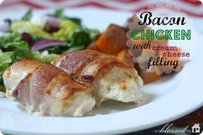 Bacon & Cream Cheese Chicken!