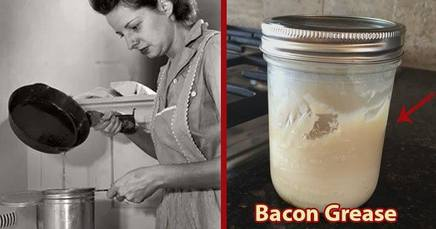 Save The Bacon Grease!