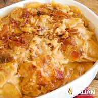 Bacon Cheddar Beer Potatoes Au Gratin!