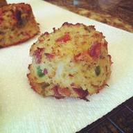 Bacon Jalapeno Cauliflower Biscuits!