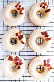 Maple Bacon Donuts!