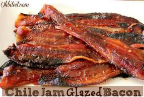 Chili Jam Glazed Bacon!
