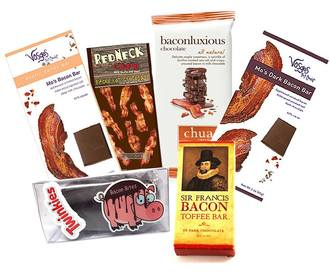 Extreme Bacon Chocolate Sampler!