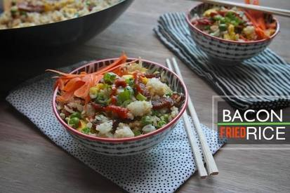 Bacon Fried Rice!