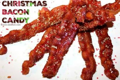 Christmas Bacon Candy!