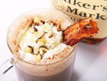 Bacon Bourbon Hazelnut Hot Chocolate!