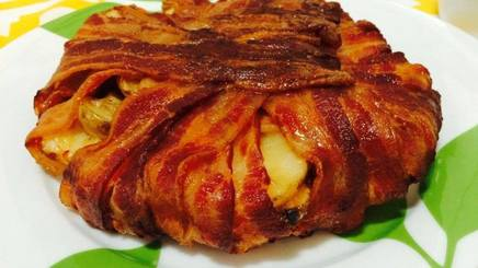 Bacon Potato Cheddar Tart!