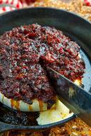 Bacon Jam Baked Brie!