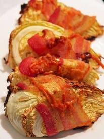 Bacon Wrapped Cabbage!