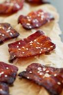 Brown Sugar Sriracha Bacon Bites!
