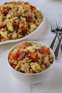 Bacon & Egg Fried Rice!