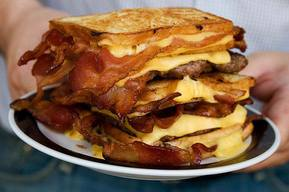 Bacon Hamburger Fatty Melt!