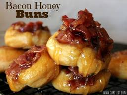 Bacon Honey Buns!