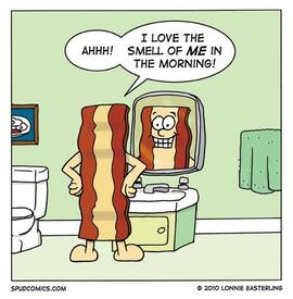 Even Bacon Loves Bacon!