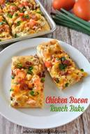 Chicken Bacon Ranch Bake!