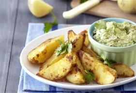 Bacon & Cheese Potato Wedges!