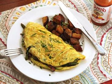 Diner Style Bacon Omelet!