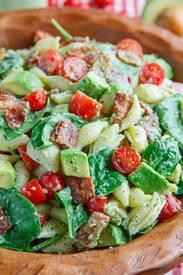 Avocado Blt Pasta Salad!
