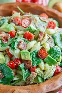 Avocado Blt Pasta Salad!