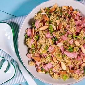 Bacon & Quinoa Herb Salad!