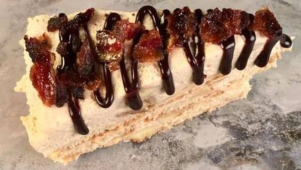 Pb Banana Bacon Ice Box Cake!
