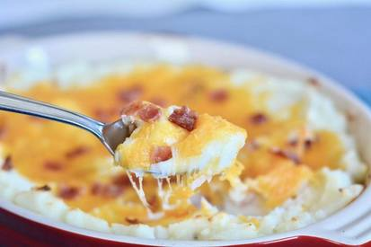Bacon Ranch Potato Casserole!