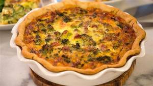 Bacon Broccoli Cheese Quiche!